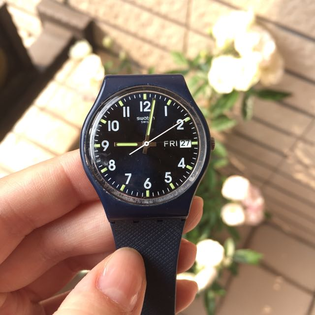 Swatch 輕量手錶,日常防水