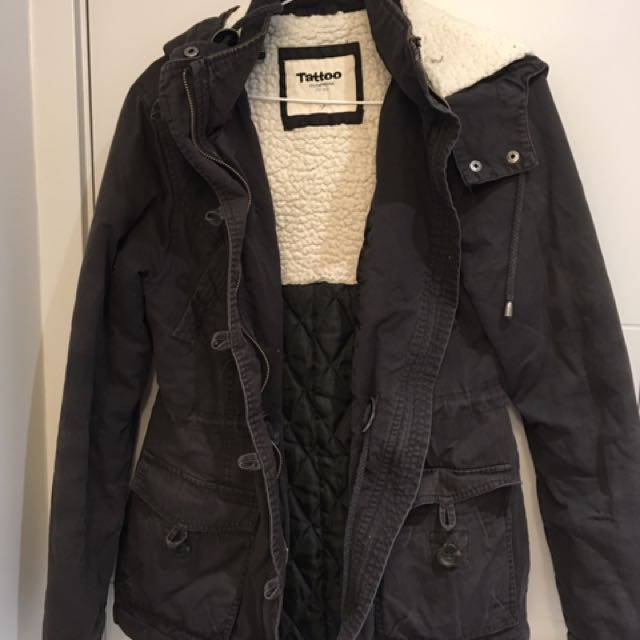 Tattoo Winter Jacket Size Small