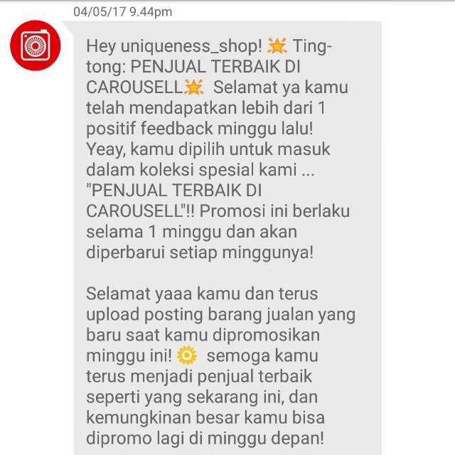Thanks Carousell #1