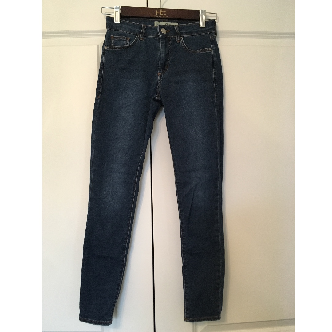 TOPSHOP LEIGH JEANS Size 25 $25