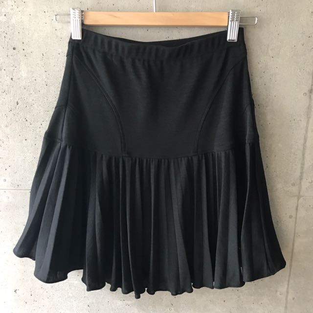 Tracy Reese Black Mini Skirt (Small)