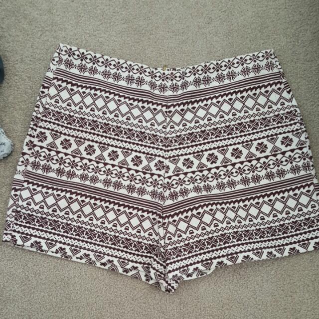 Tribal Prints Shorts