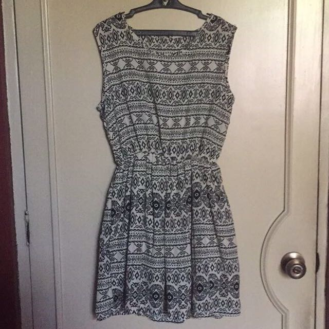 Unbranded Aztec Printed Dress