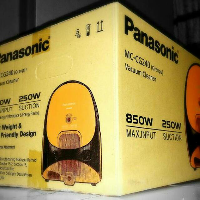 Vacum Cleaner Panasonic MC CG 240
