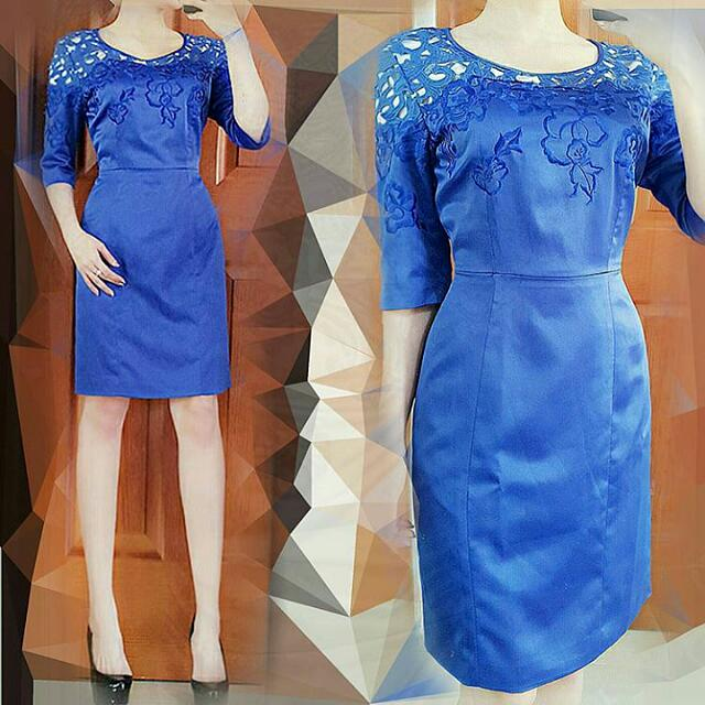 Victoire Blue Dress