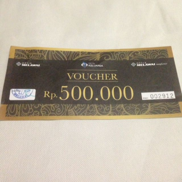 Voucher Optik Melawai