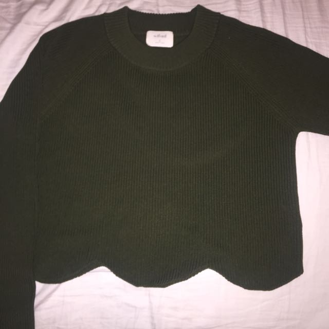 Wilfred Cropped Knit