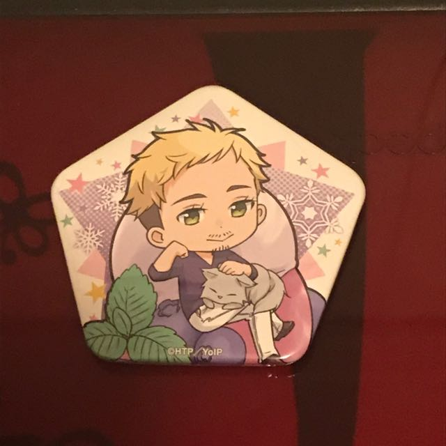 Yuri On Ice Only Shop Christophe Star Badge