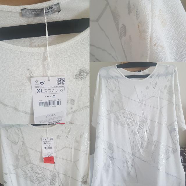 Zara Blouse Tshirt Kaos Original