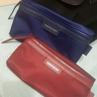 LONGCHAMP化妝包(深藍)