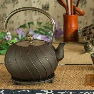 日本鐵壺 鑄鐵茶壺 老鐵壺