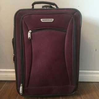Purple Carry On Suitcase