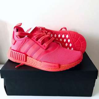 Adidas NMD Runner R1 - Solar Red Mono [Size: US 5 / EU 37.3]