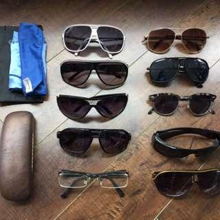 Lot of Sunglasses + Extras