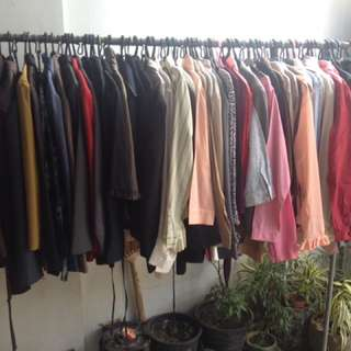 100 Pcs Blazers, Slacks, Longsleeves