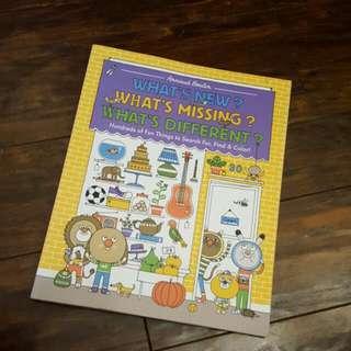 Search/Find/ Colour Book