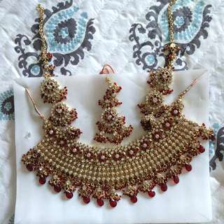 Heavy Indian Jewelry Set