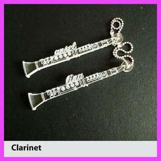 Customized Clarinet Keychain