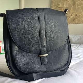 Dark Navy Blue Across Body Handbag • Target