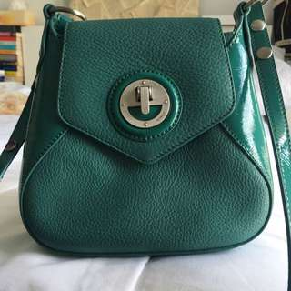 MIMCO SML Turquoise/Teal Across Body Bag