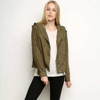 Brandy Melville - Green Hailey Jacket