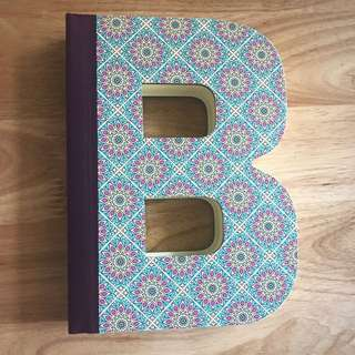 Alphabet Book Letter B By If