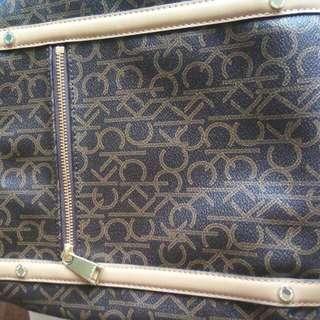 2016 Calvin Klein Hudson Monogram Cross Body Bag,One Size - Sling Bags