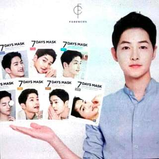 SONG JOONG KI FACIAL MASK (Limited Edition)