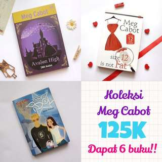 Novel Meg Cabot 125K Dapat 6 Buku!