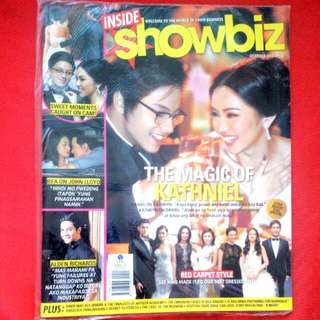 Kathniel Inside Showbiz Magazine - Oct2012 Issue