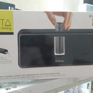 ihome blue tooth speaker with power bank