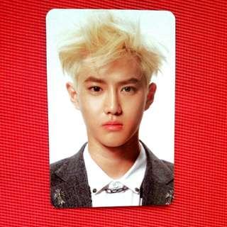 EXO Suho Official Overdose Photocard