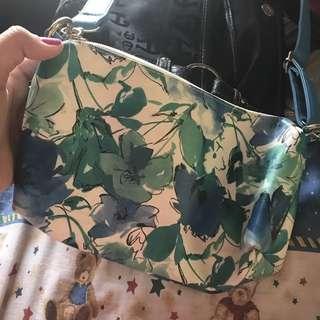Belladonna Blue Sling Bag