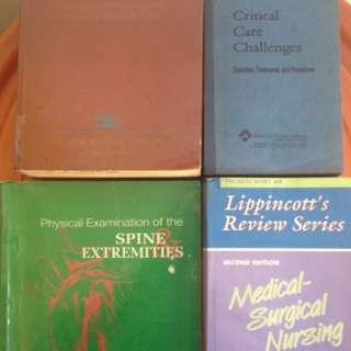 4 Pcs Nursing Books