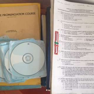 Nursing Reviewer CDs and Compilations