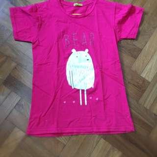 Pink Bear Shirt