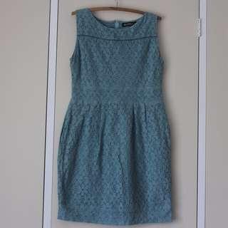 LARGE ISHKA Blue Lace Dress