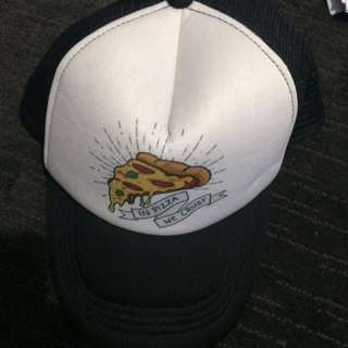 'In Pizza We Crust' Hat