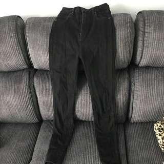 Wrangler Black Hi Pins Size 6