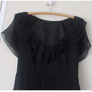 AU14 Black TOKITO Dress