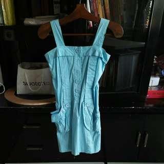 Preloved Blockout Blue Dresses