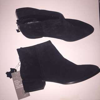 PREMIUM QUALITY Suede Booties