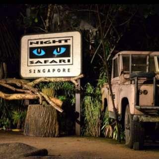 Night Safari Inc Tram