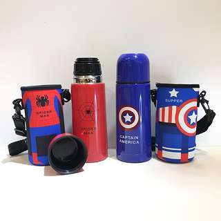 Marvel's Insulated Cup Drinking Mug Superhero Spiderman Bottle Gift Idea