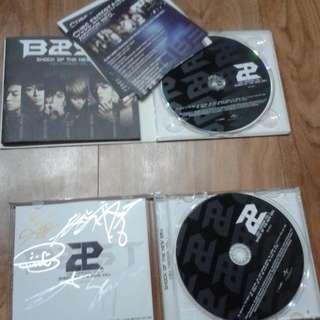 BEAST / B2ST signed CDs