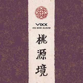 INCOMING INSTOCKS VIXX 4TH MINI ALBUM - 도원경(桃源境) Shangri-la / Paradise on Earth