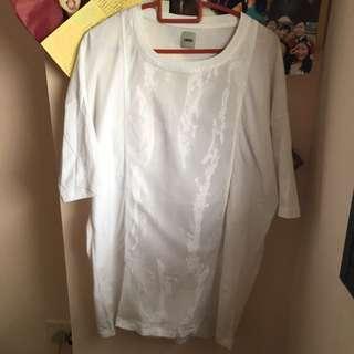 Asos White Oversized Tshirt