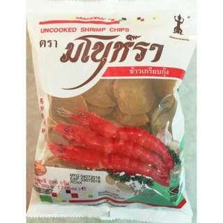 泰國生炸蝦片200g