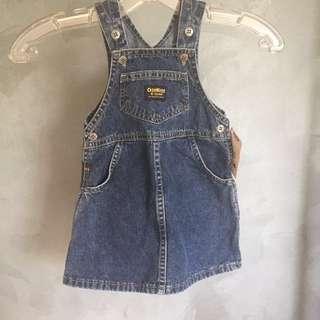 NEW OSHKOSH Toddler Jean Dress
