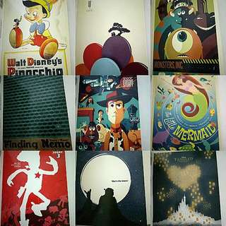 Assorted Movie Posters Postcards